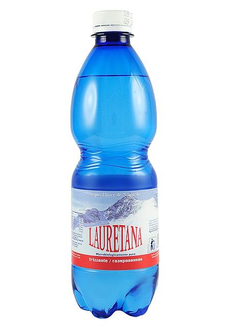 Вода LAURETANA FRIZZANTE 0.5 л газированная (ПЭТ 12шт)