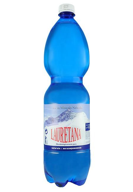 Минеральная вода LAURETANA NATURALE 1.5 л негазированная (ПЭТ)