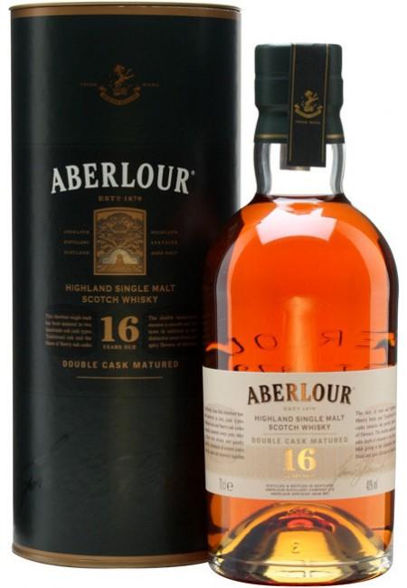 "Aberlour Sherry Cask Виски ""Aberlour"" 16 Years Old Double Cask, in tube, 0.7 л"