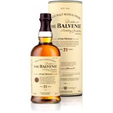 Виски Виски Balvenie PortWood 21 Years Old, gift tube, 0.7 л