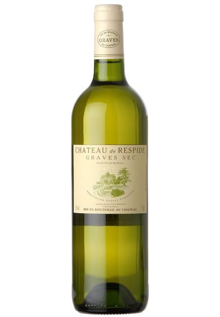 Вино Chateau De Respide Blanc Graves  AOC, 2015