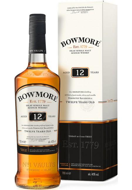 """Виски """"Bowmore"""" 12 Years Old, in gift box, 0.7 л"""