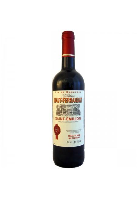 Вино Chateau Haut-Ferrandat Cuvee Saint George AOC, 2014