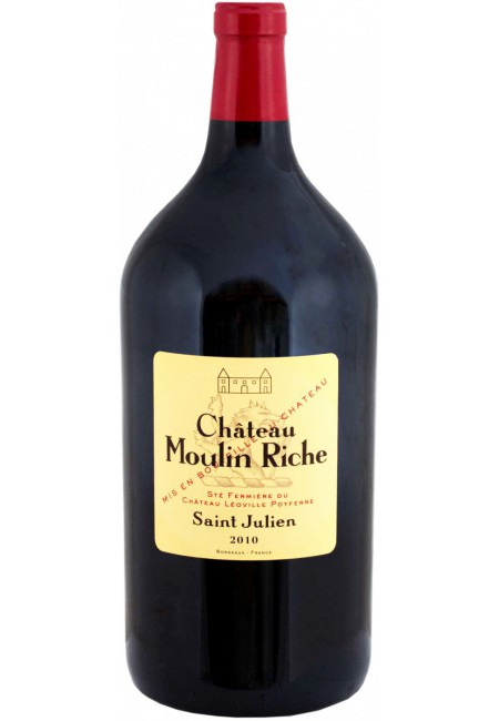 Вино Chateau Moulin Riche, Saint-Julien AOC, 2010, 3000 мл