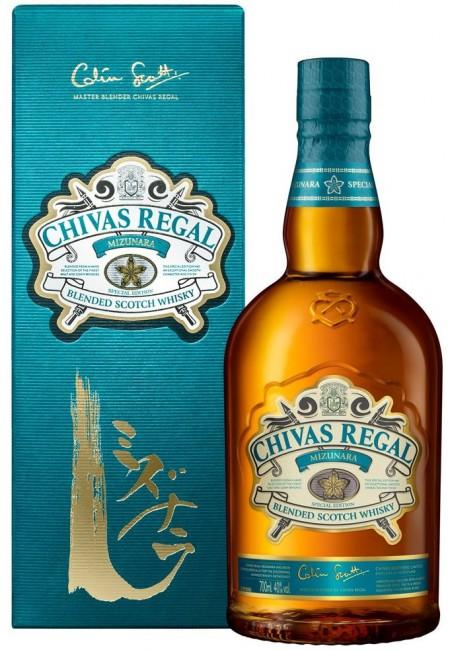 "Виски ""Chivas Regal"" Mizunara, gift box, 0.7 ml"
