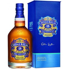 "Виски ""Chivas Regal"" 18 years old, with box, 0.7 л"