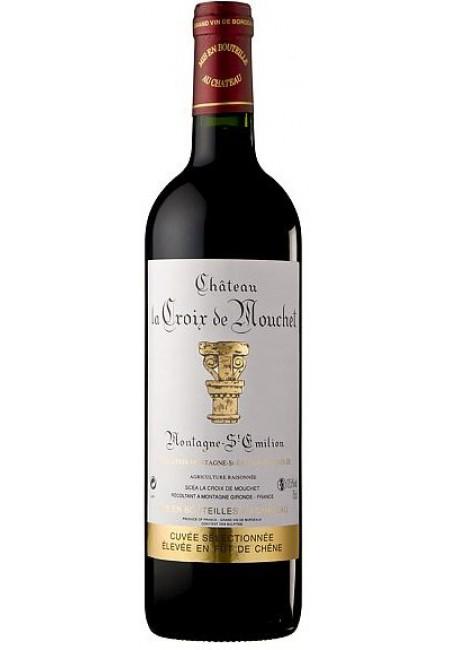 Вино Chateau La Croix de Mouchet Montagne-Saint-Emillon  AOC, 2012