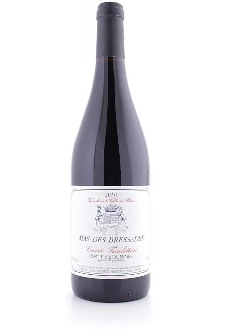 Вино Mas Des Bressades Cuvee Tradition, AOP Costieres de Nimes 2016