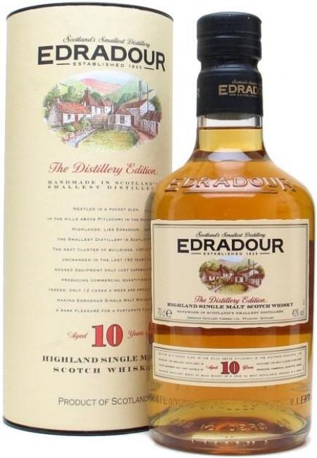 """Виски Виски """"Edradour"""" 10 Years Old, gift box, 0.7 л"""