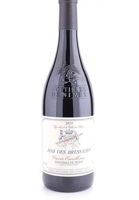 Вино Mas Des Bressades Cuvee Excellence, AOP Costieres de Nimes 2015