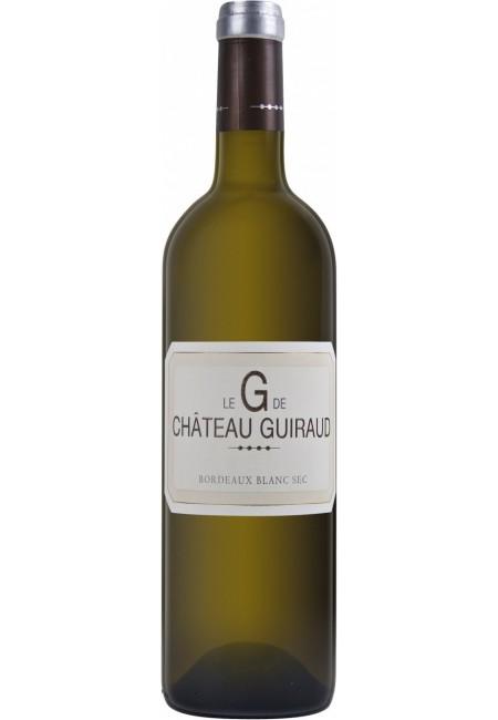 """Вино Le """"G"""" de Chateau Guiraud, Bordeaux Blanc Sec, 2019"""