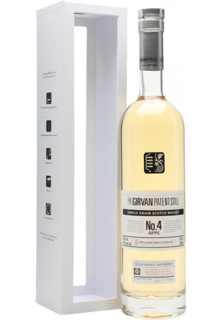 "Виски ""Girvan Patent Still"" №4 Apps, 0.7 л"