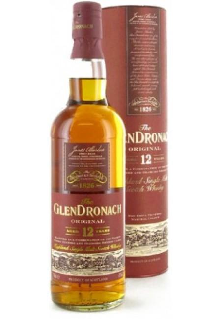 Виски Glendronach Original 12 years old, in Tube, 0.7 л