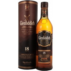 "Виски ""Glenfiddich"" 18 Years Old, in tube, 0.7 мл"