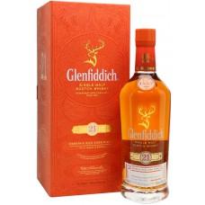 Виски Glenfiddich 21 Years Old, gift box, 0.75 л