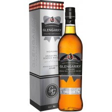 "Виски ""Glengarry"" Single Malt, gift box, 0.7 л"