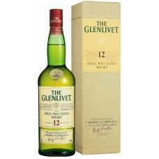 Виски «Glenlivet 12 Y.O. Excellence» в подарочной упаковке