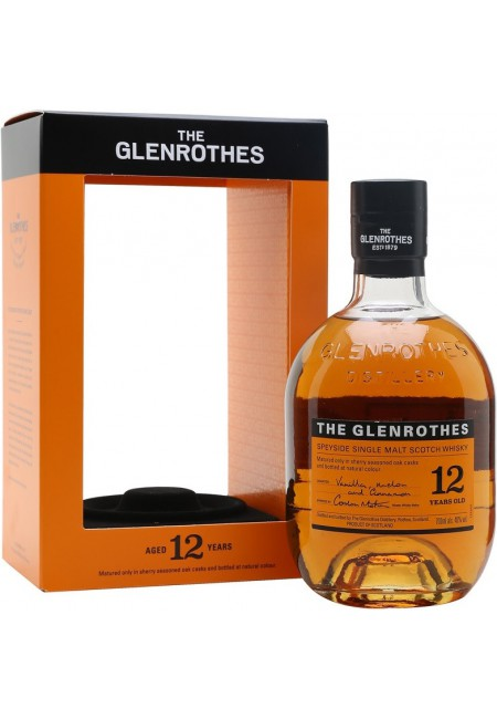 """Виски """"Glenrothes"""" 12 Years Old, gift box, 0.7 l"""