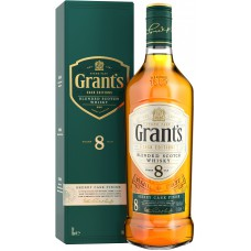 "Виски ""Grant's"" Sherry Cask Finish 8 Years Old, gift box, 0.7 ml"