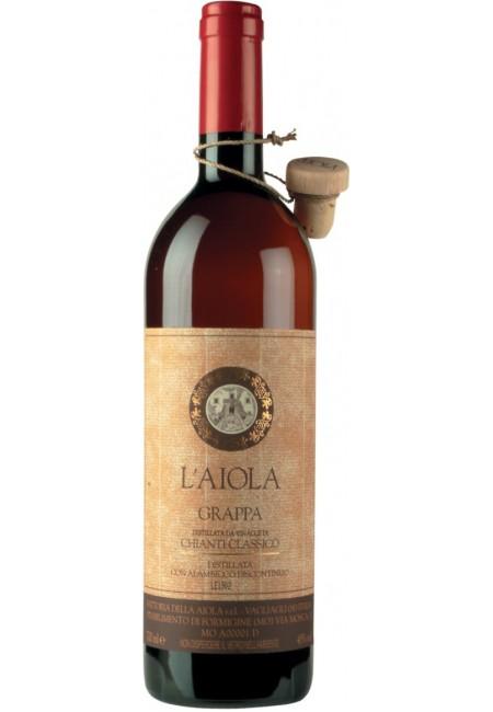 """Граппа Fattoria della Aiola, """"L'Aiola"""" Grappa Invecchiata di Chianti Classico, 700 мл"""