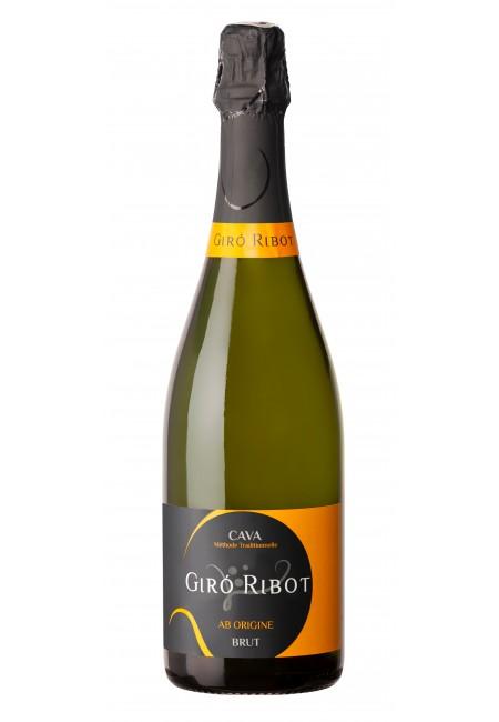 Вино игристое Сava Giro Ribot Brut, 750 ml