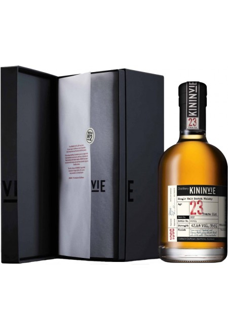 "Виски ""Kininvie"" 23 years old, gift box, 350 мл"