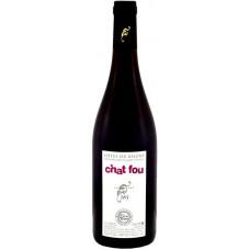 Вино Cotes du Rhone  Chat Fou  AOC,  2013