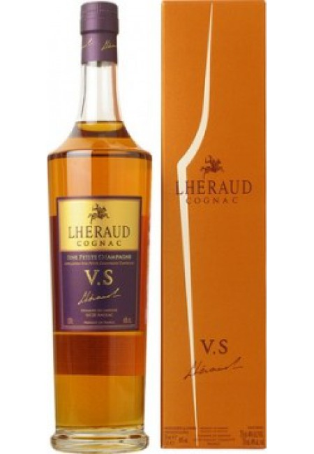 Коньяк Lheraud, Cognac VS, with box, 700 мл