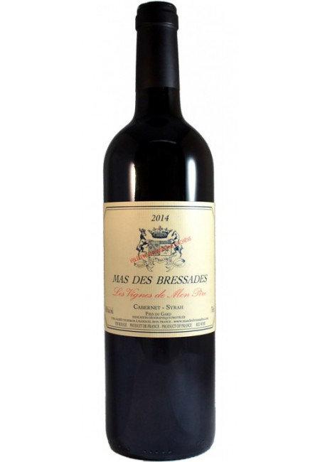 Вино Mas Des Bressades Les Vignes de Mon Pere, IGT 2016 Pays du Gard