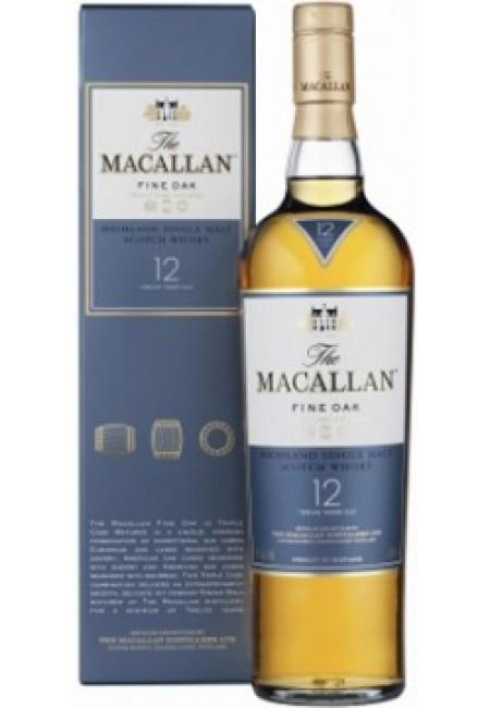 """Виски Macallan """"Fine Oak"""" 12 Years Old, with box, 700 мл"""