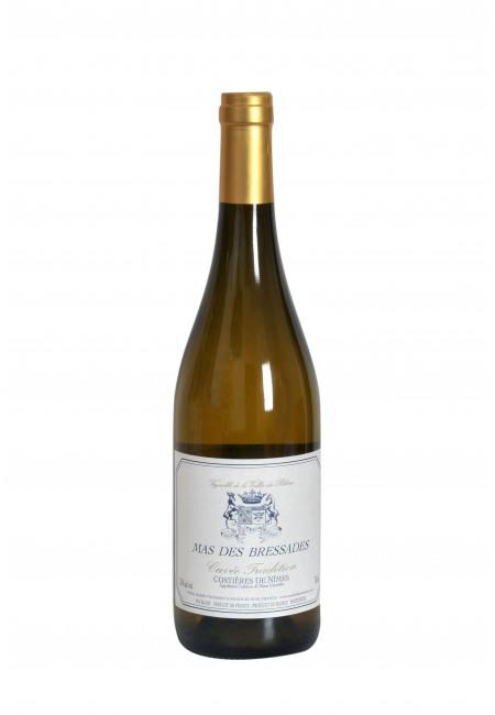 Вино Mas Des Bressades Cuvee Tradition Blanc, AOP Costieres de Nimes, 2019