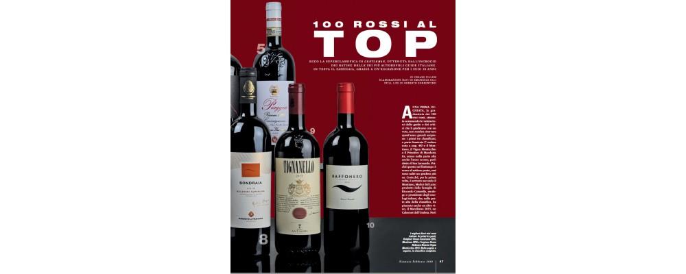 Piaggia Carmignano Riserva 2015 вошло в Тор-5 лучших красных вин Италии