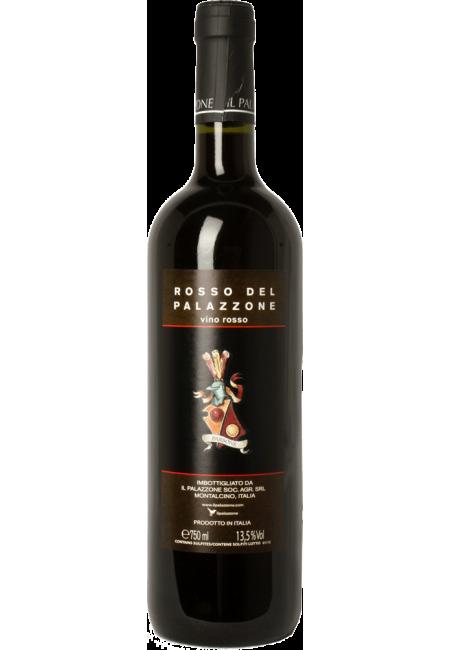 """Вино """"Rosso Del Palazzone"""" Toscana Vino Rosso, IGT 2016/2017"""