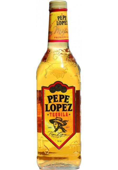 "Текила ""Pepe Lopez"" Gold, 750 мл"