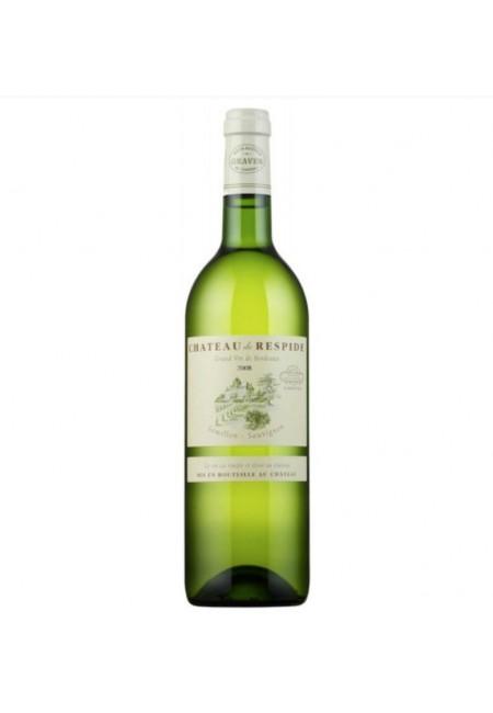 Вино Chateau De Respide Blanc Graves  AOC, 2016