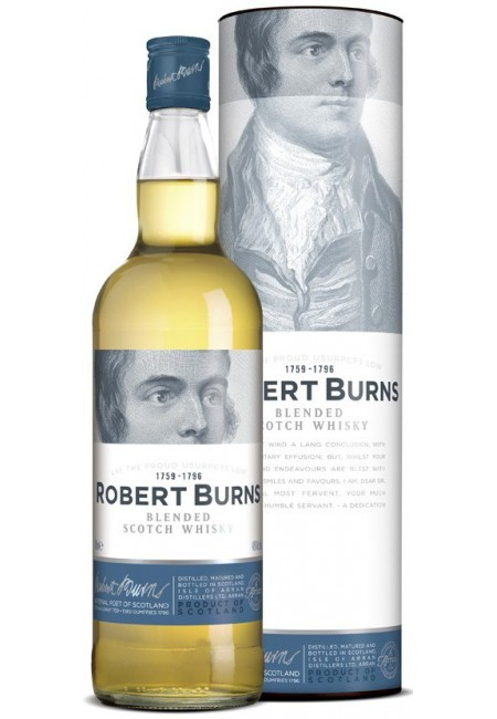 Виски Robert Burns Blend, In Tube, 0.7 л