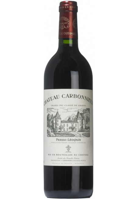 """Вино """"Chateau Carbonnieux"""" Rouge, Pessac-Leognan AOC Grand Cru Classe de Graves, 2015"""