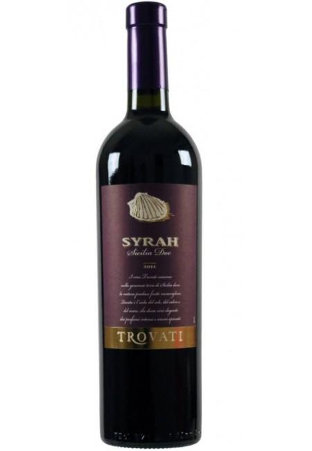Вино Syrah Trovati DOC 2016