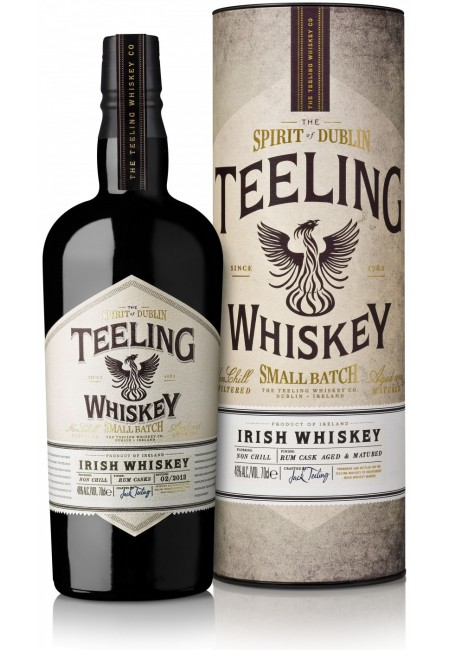 Виски Teeling, Irish Whiskey, in tube, 0.7 л
