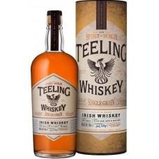Виски Teeling, Irish Whiskey Single Grain, gift tube, 0.7 л