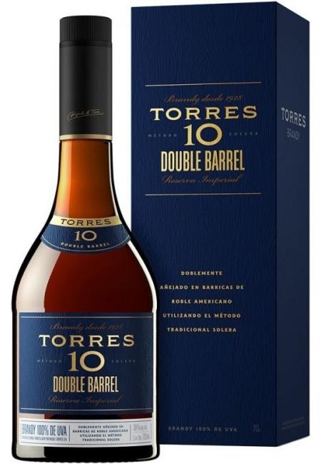 "Бренди ""Torres 10"" Double Barrel, gift box, 0.7 л"