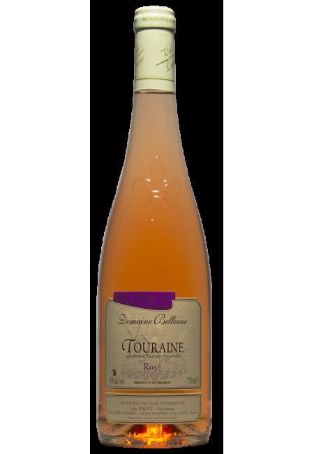 "Вино ""Domaine Bellevue Rose"" AOC Touraine, 2019"