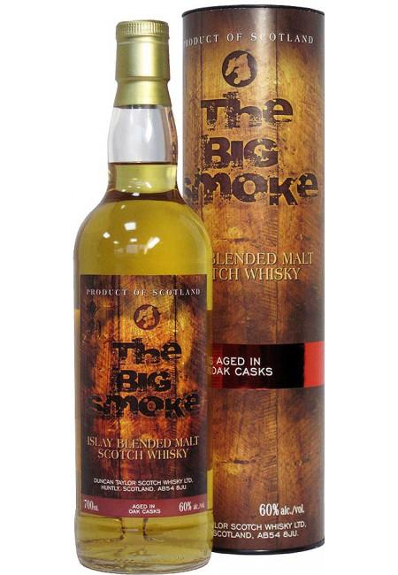 """Виски """"Big Smoke 60"""" 10 Years Old, gift tube, 700 мл"""