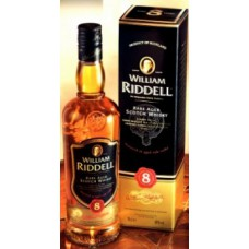 Виски William Riddell 8 Years Old, gift box, 700 мл