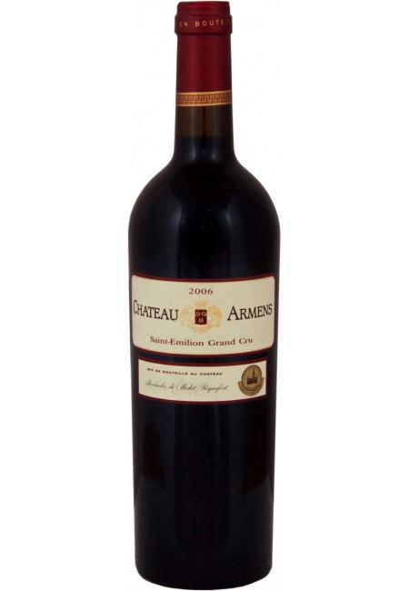 Вино Chateau Armens Saint-Emilion Grand Cru AOC,  2006