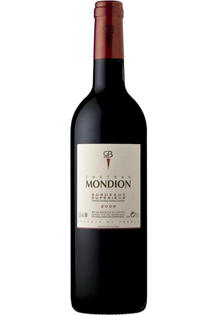 Вино Chateau Mondion, Bordeaux Superieur AOC, 2009