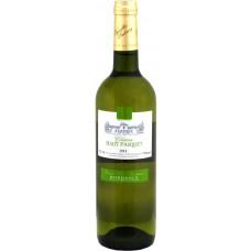 Вино Vignobles Dubourg, Chateau Haut Pasquet Blanc, Bordeaux AOC, 2013