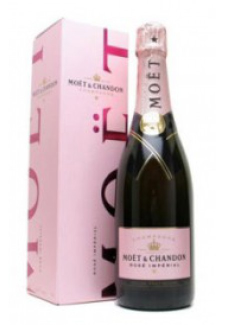 Шампанское Moet & Chandon Brut Imperial Rose in gift box