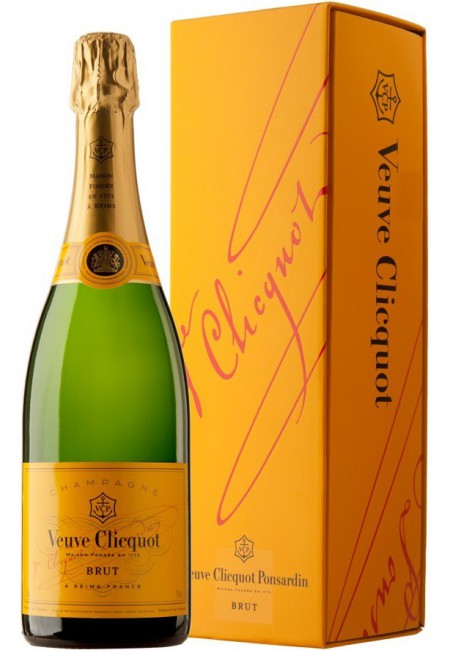 Шампанское Veuve Clicquot Brut with gift box, 750 мл