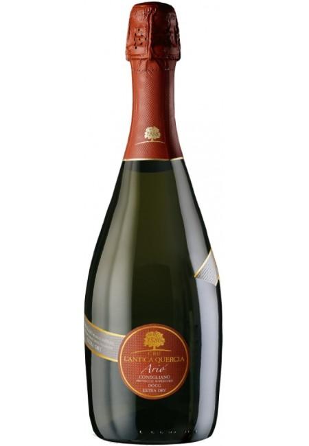 """Вино игристое  L'Antica Quercia, """"Ario"""" Brut , Conegliano Valdobbiadene Prosecco Superiore DOCG, 2014"""